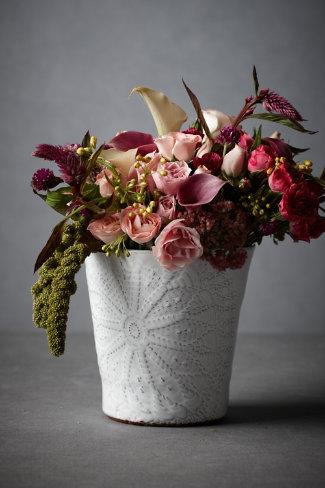 urchin shell vase