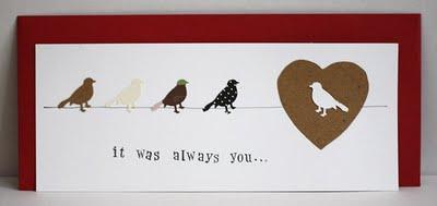Handmade Card - It was Always You - Gray Star Design