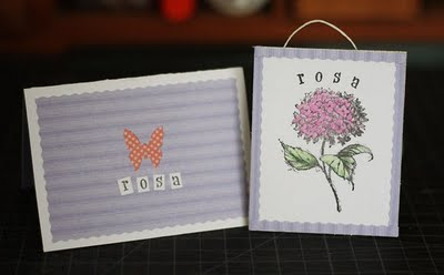 Decorative Handmade Card - Gray Star Design