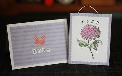 Decorative Handmade Card - Gray Star Design