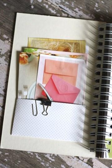 Wedding Journal - Pockets