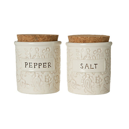 Batik Salt & Pepper Cellars