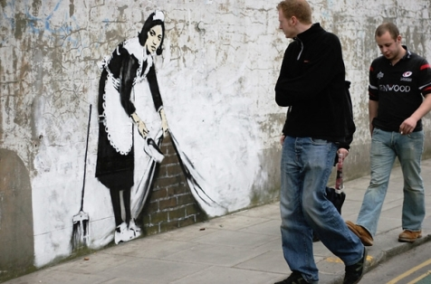 Artists Who Inspire - Banksy