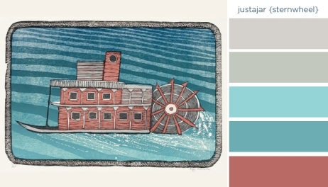 Art Inspired Palette – Justajar