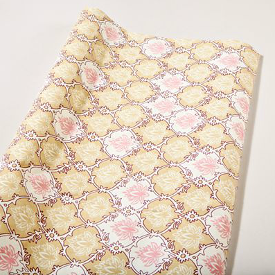 Shop of the Month: World Market - Beige Lotus Handmade Gift Wrap