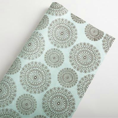 Shop of the Month: World Market - Blue Circle Handmade Gift Wrap