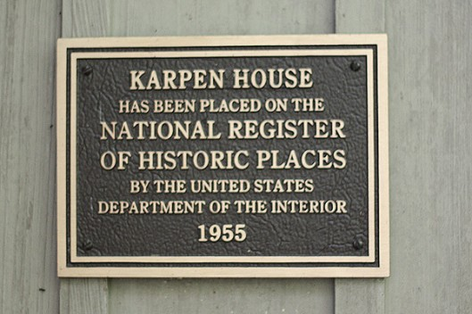Historic Series: The Karpen House - Copyright 2012 Melissa O'Connor