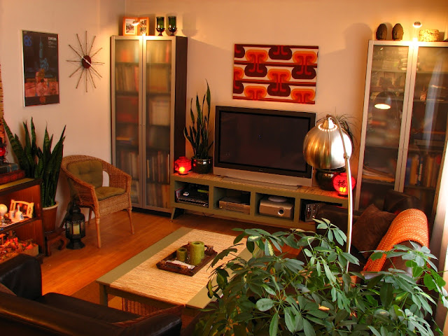 Mod the design inspirationalist for 70s apartment design