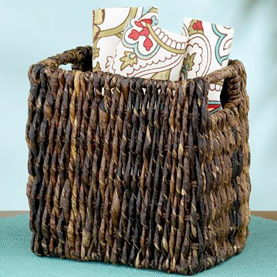 Shop of the Month: World Market - Madras Square Basket