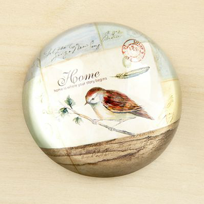 Shop of the Month: World Market - Vintage Bird Paperweight