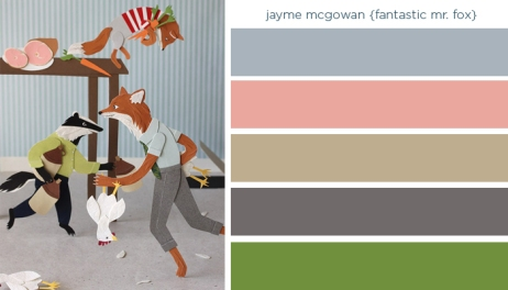 Art Inspired Palette: Jayme Mcgowan
