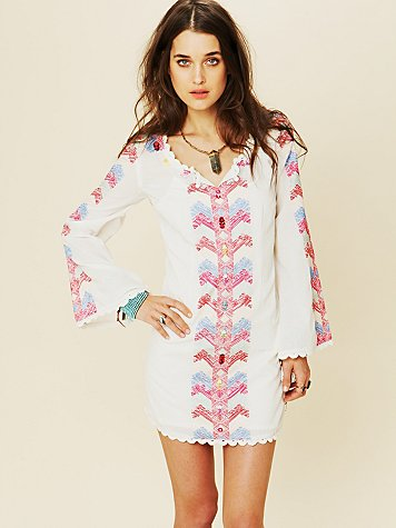 White Summer - Misty Meadow Dress