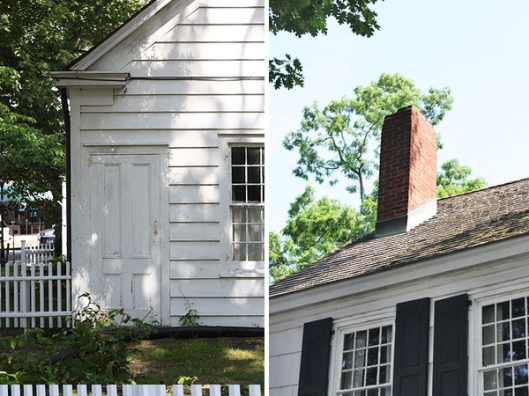 Historic Series: David Conklin Farm House - Copyright 2012 Melissa O'Connor