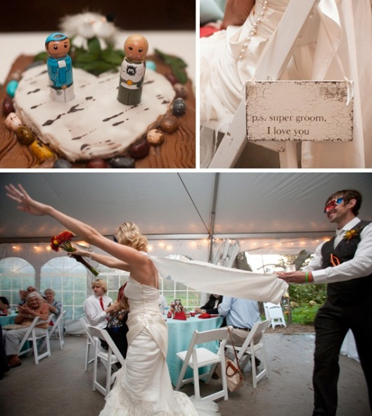 A Superhero Wedding