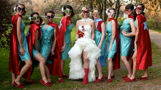 A Superhero Wedding - Photo by Cat Norman