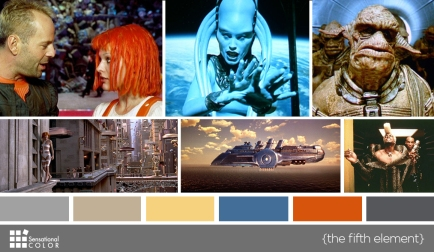 Color in Films: The Fifth Element