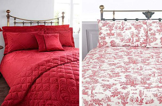 Guest Post: Texture and the Colour Red Used in the Bedroom