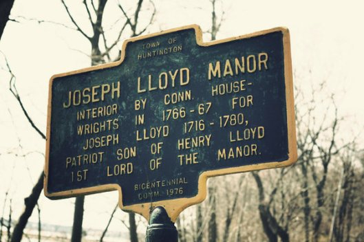 Historic Series: The Joseph Lloyd Manor - Copyright 2012 Melissa O'Connor