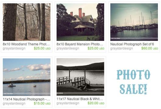 Photograph Sale!