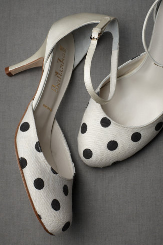 Summer Newsies from BHLDN - Polka-Dot Mary Janes
