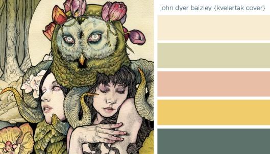 Art Inspired Palette: John Dyer Baizley