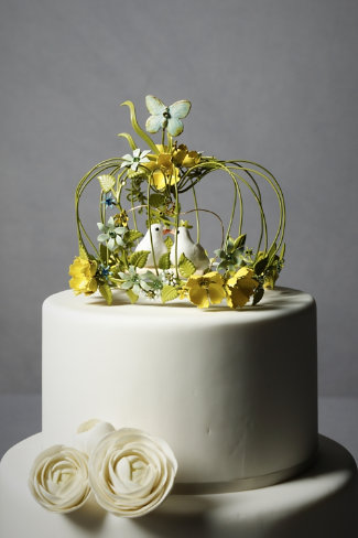 Shop of the Month: BHLDN - Sweethearts Waltz Cake Topper