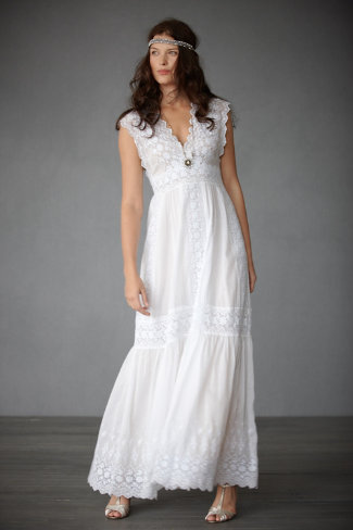Shop of the Month: BHLDN - Lace Lanes Gown