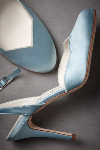 Shop of the Month: BHLDN - Forties Forever Slingbacks