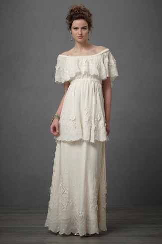Shop of the Month: BHLDN - Dulcinea Gown