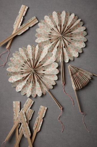 Shop of the Month: BHLDN - Crinkle Fans
