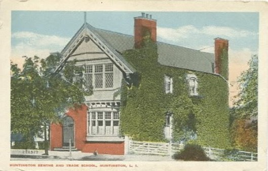 Historic Series: Huntington Sewing and Trade School  - Photo Credit: Bygone Long Island