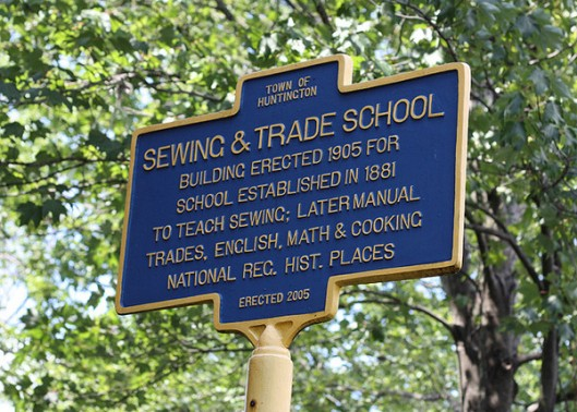 Historic Series: Huntington Sewing and Trade School - Copyright 2012 Melissa O'Connor