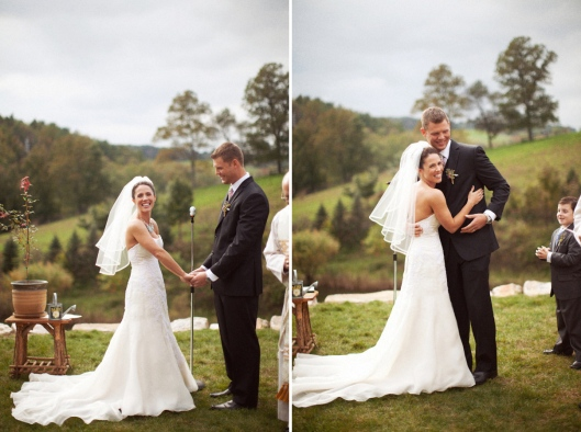Elizabeth and Nick's Handmade Wedding - Photo by Dave Waddell at Siousca Photography