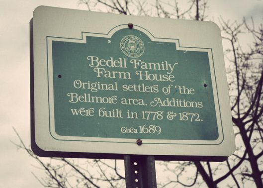 HIstoric Series: The Bedell Family Home - Copyright 2012 Melissa O'Connor