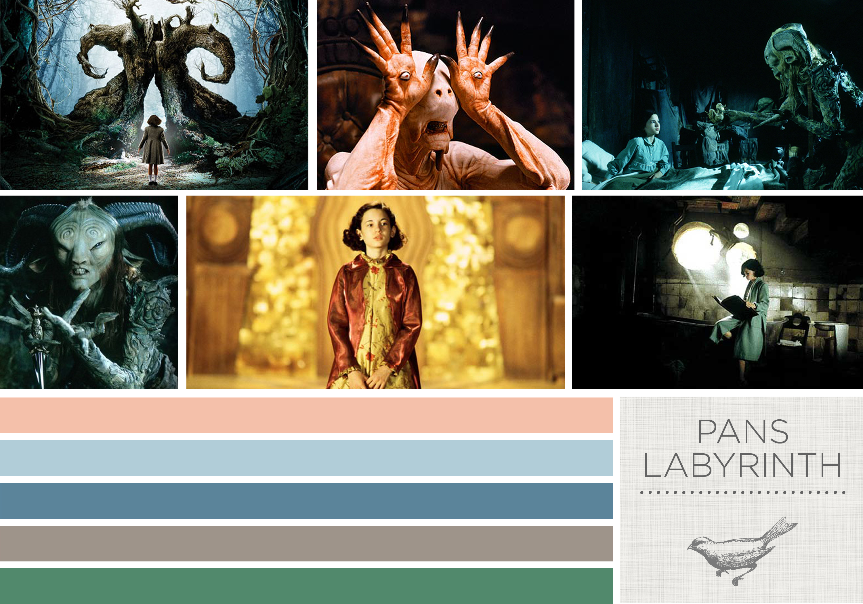 Color in Films: Pans Labyrinth