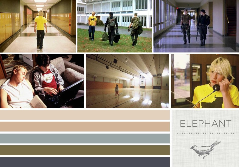 Color in Films: Elephant