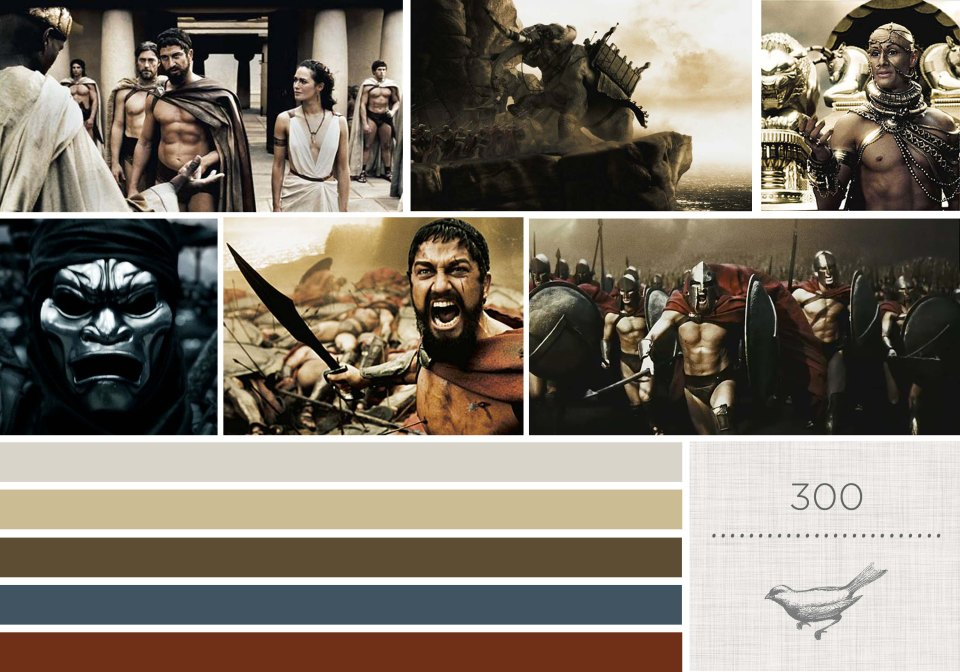 Color in Films: 300