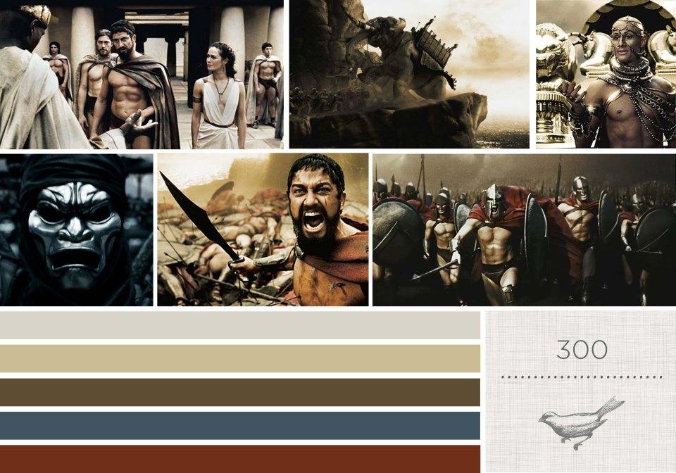Color in Films: 300