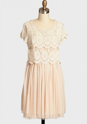 Shop of the Month: Ruche - Heirloom Estate Tulle Dress
