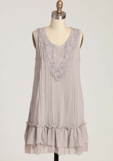 Shop of the Month: Ruche - Time After Time Ruffle Dress