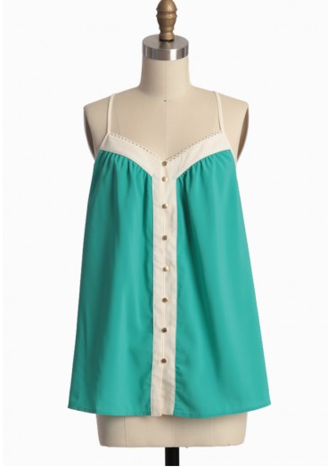 Shop of the Month: Ruche - Key To Your Heart Top