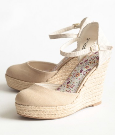 Shop of the Month: Ruche - Madison Avenue Espadrille Wedges