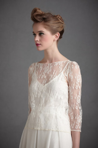 New Picks from BHLDN - Appolinaire Blouse