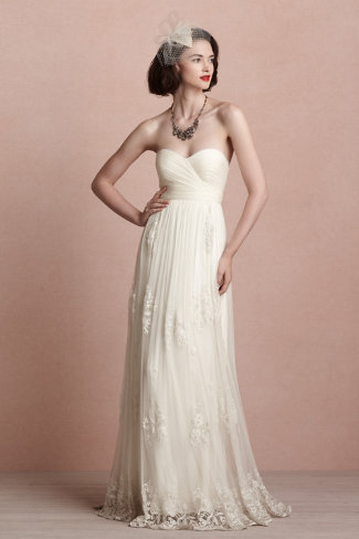 New Picks from BHLDN - Luella Gown