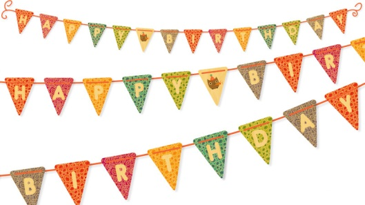 Shop of the Month: Night Owl Paper Goods - Owl Birthday Banner