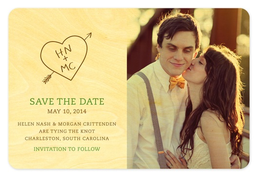 Shop of the Month: Night Owl Paper Goods - Save the Date