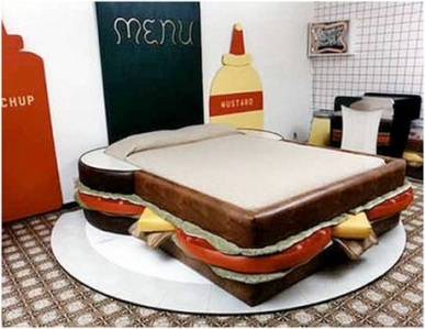 Guest Post: Five Weird Bedroom Ideas - sandwich bed
