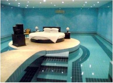 Guest Post: Five Weird Bedroom Ideas - waterbed