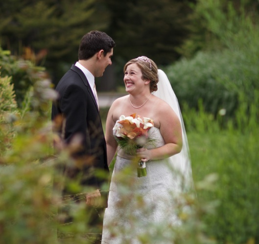 Brooke & Pete's Garden Wedding