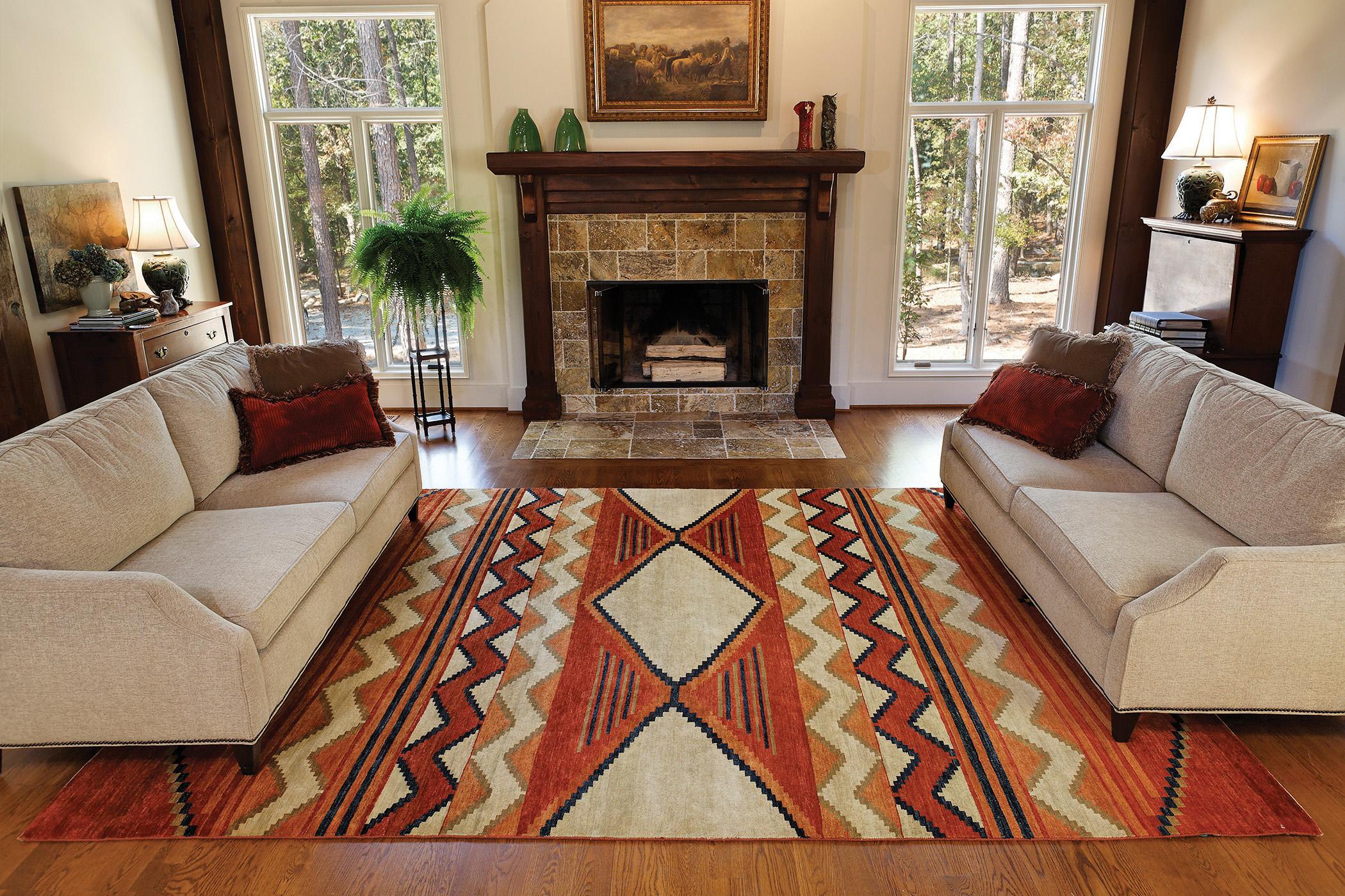 American southwest inspired design the design inspirationalist for Southwest colors for living room